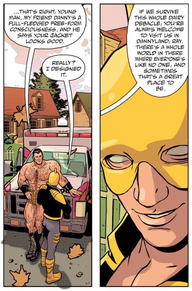From JLA/Doom Patrol Special #1, DC Comics, 2018.