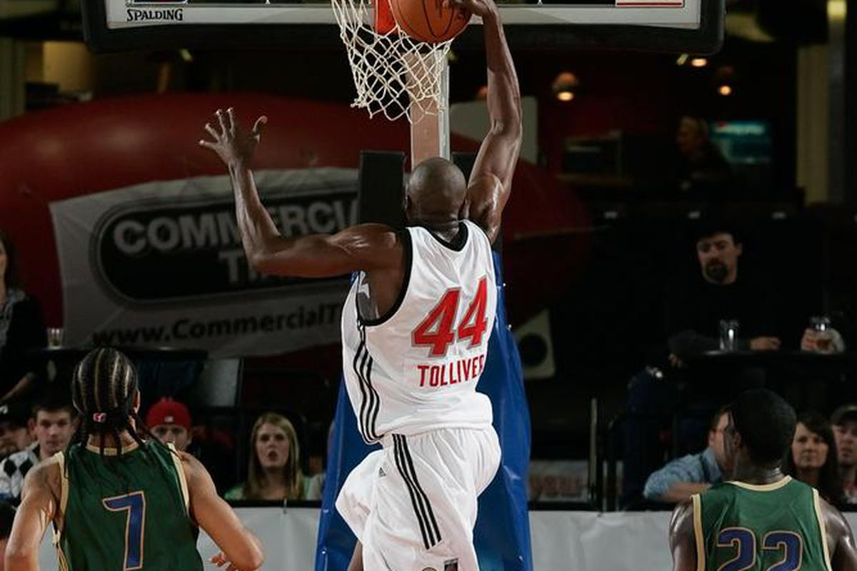 Anthony Tolliver is ready for the Showcase.  Are you?