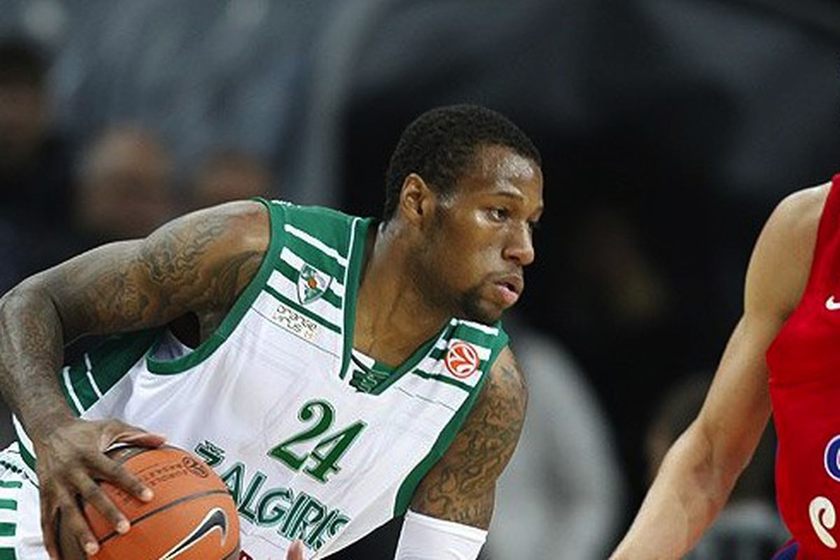 Last season in the Euroleague, Sonny Weems was the third-best scorer before an ankle injury suddenly ended his season in Lithuania. Now he's been chosen to replace Andrei Kirilenko with CSKA Moscow.