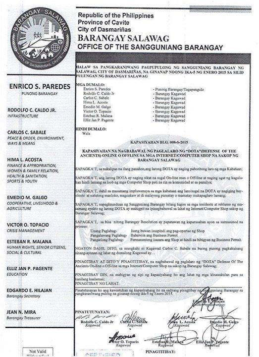 philippine bans dota 2 hooligans