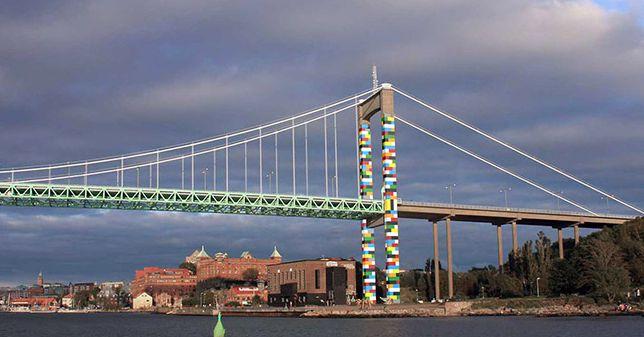 Lego Style Looks Good On This Swedish Bridge Curbed