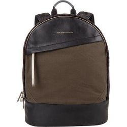 Canvas, Leather & Haircalf Kastrup Backpack, $1,125