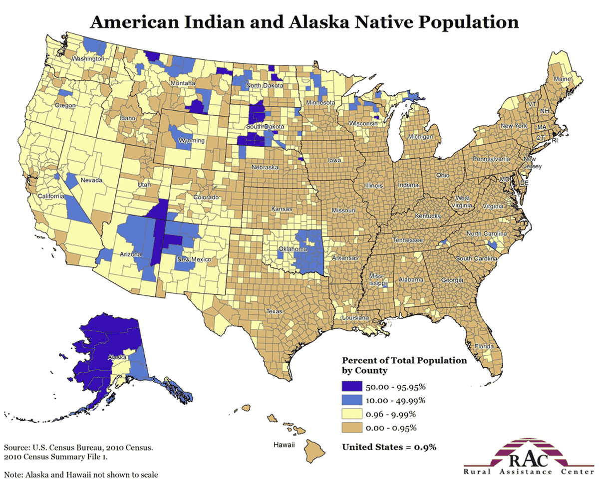 americas indigenous population today is sparse and largely lives in areas we forced them into indigenous population density this map