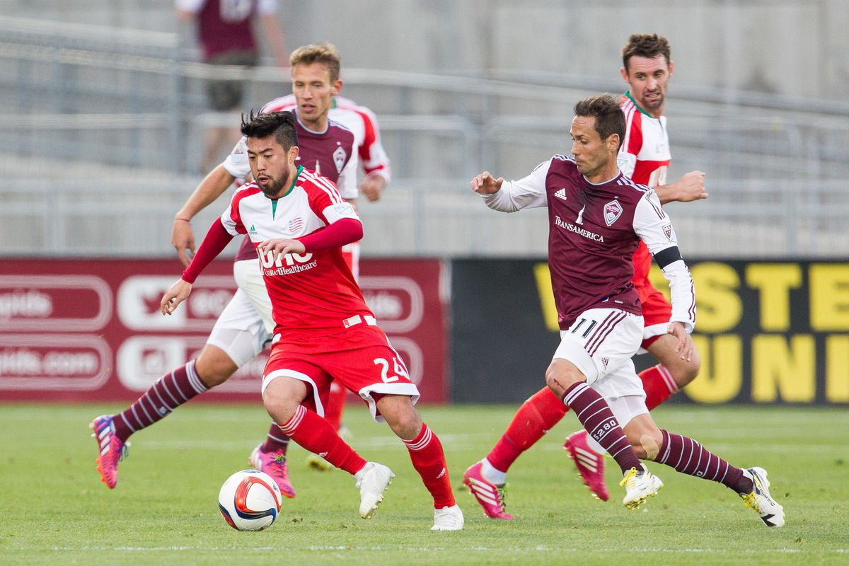 This was, by far, the worst color clash in MLS last year.
