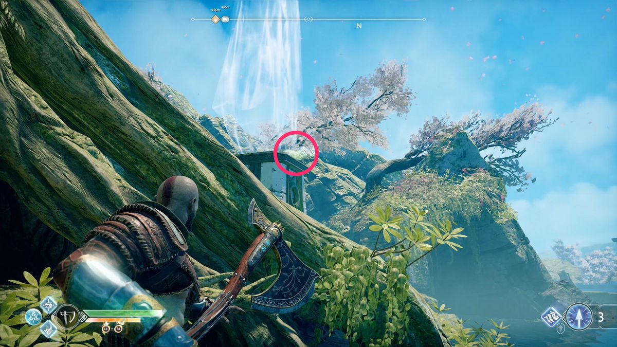 God Of War Odin S Raven Location Guide How To Find All 51