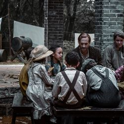 """In the film """"On Wings of Eagles,"""" Eric Liddell, played by Joseph Fiennes, is relocated to the Weihsien Japanese internment camp."""