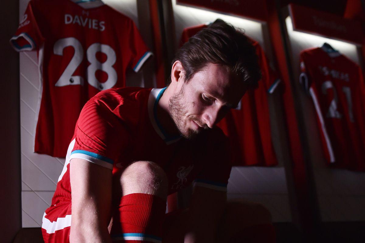 Liverpool Unveil New Signing Ben Davies