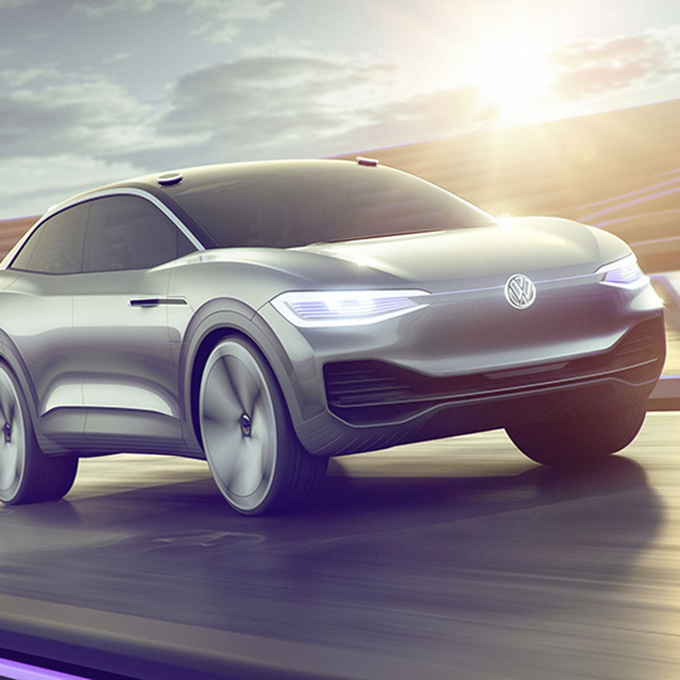 VW ID Crozz Electric Crossover SUV: Design, Release >> Volkswagen S I D Crozz Is A Sharp Electric Concept With A