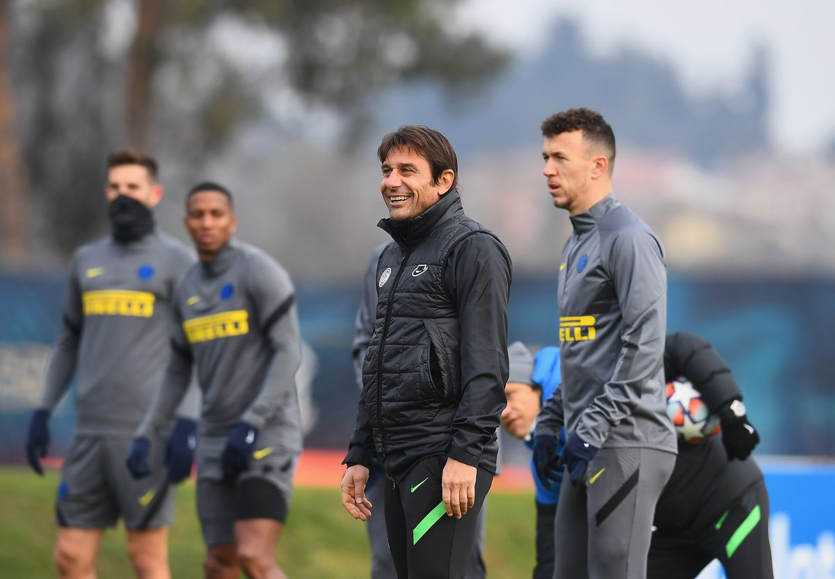 FC Internazionale - Press Conference And Training Session