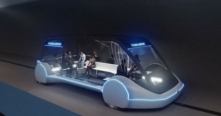 photo image Elon Musk's Boring Company approved to build high-speed transit between downtown Chicago and O'Hare Airport