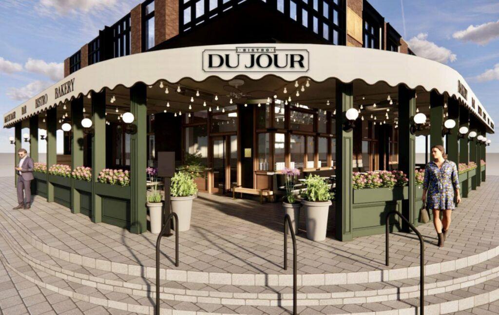 A rendering of Bistro Du Jour