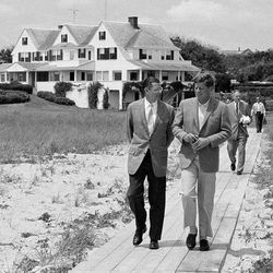 The Kennedy compound on Cape Cod