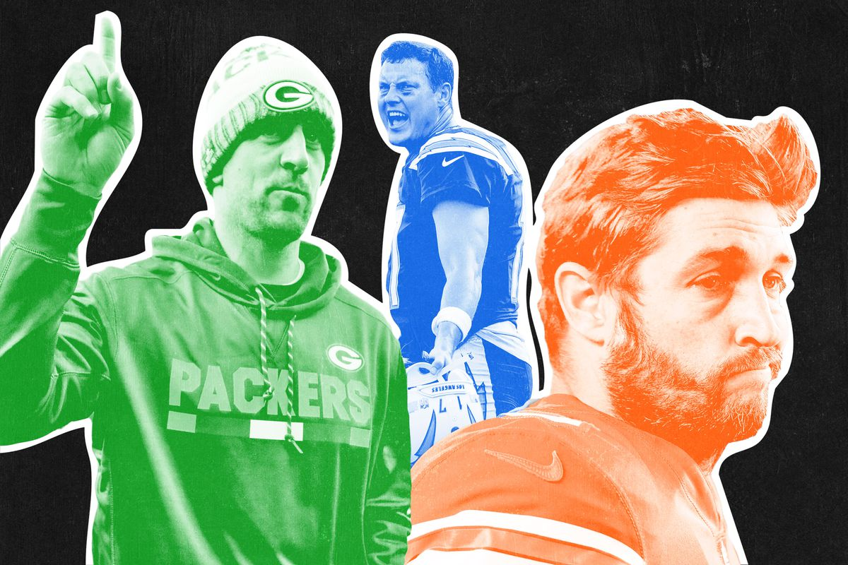 Aaron Rodgers, Philip Rivers, and Jay Cutler