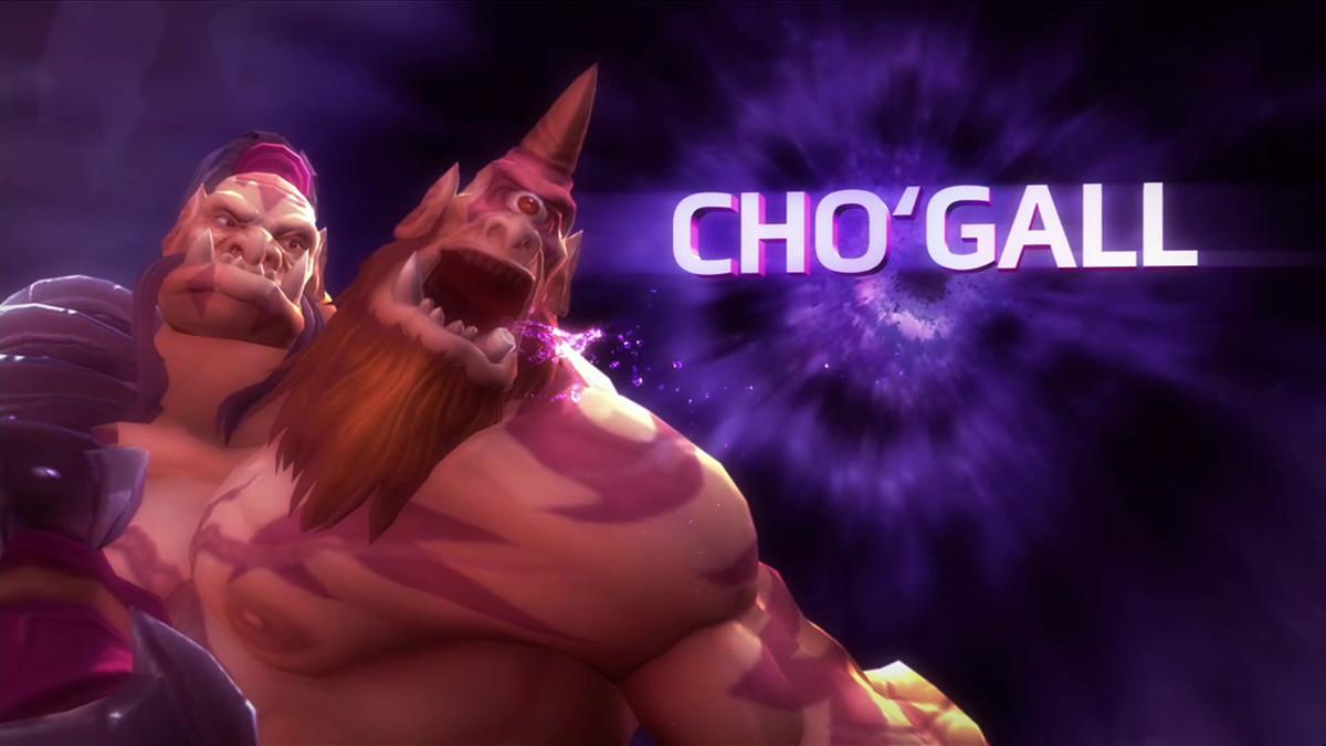 Cho'Gall, a warcraft ogre