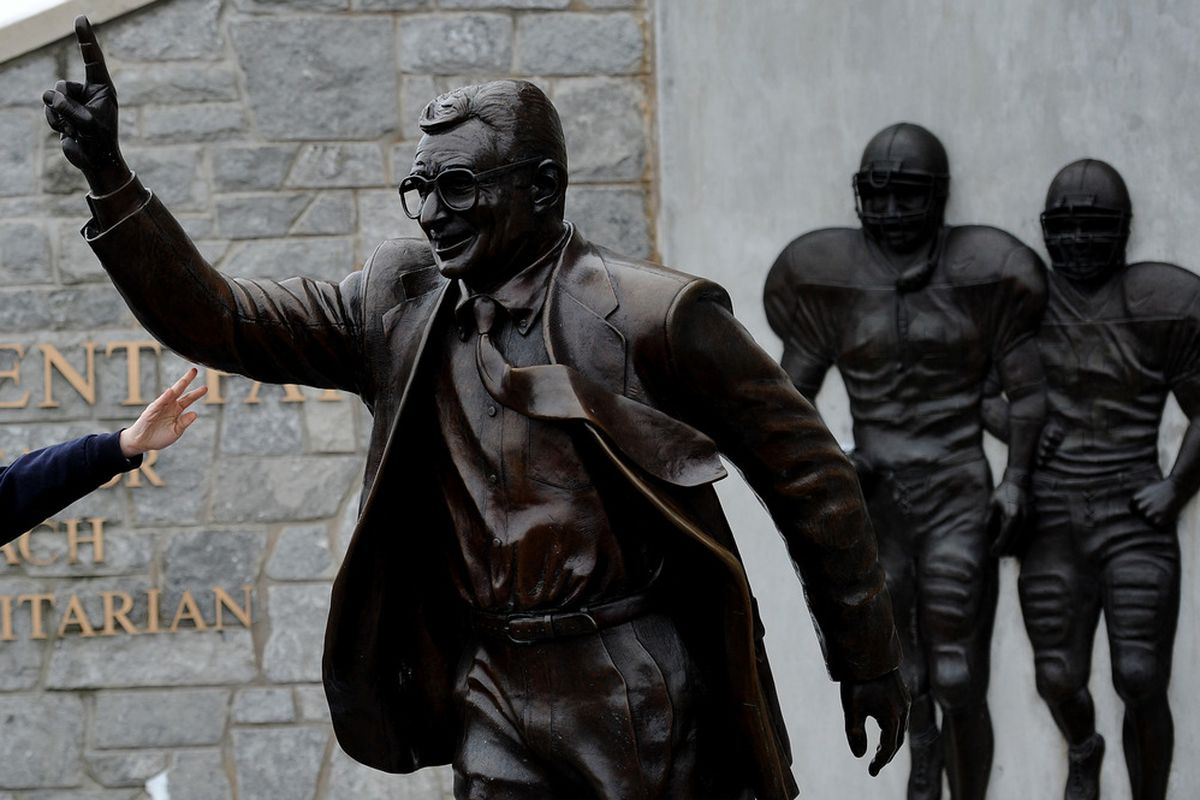 JoePa, a man who literally went to the grave trying to protect a brand.