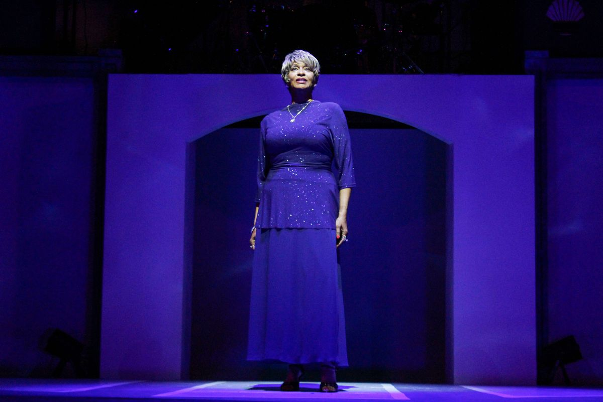 """Chantee Joy stars as Mature Lena in """"Style and Grace: In Tribute to Lena Horne and Nancy Wilson."""""""