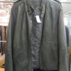 John Varvatos leather jacket, $919