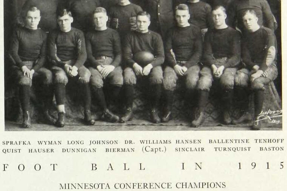 1915 conference champs