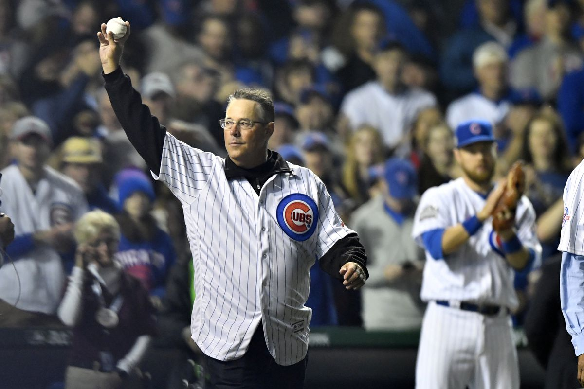 MLB: OCT 29 World Series - Game 4 - Indians at Cubs