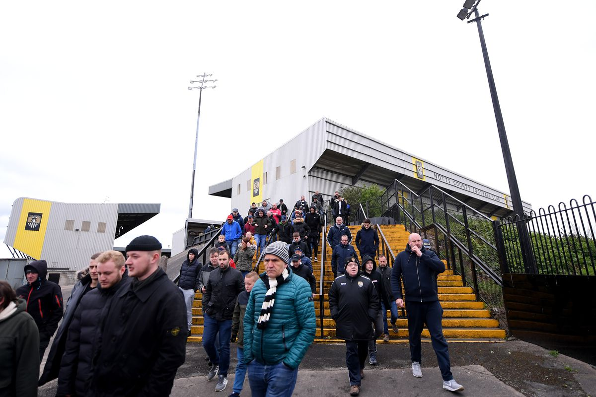 Notts County v Grimsby Town - Sky Bet League Two