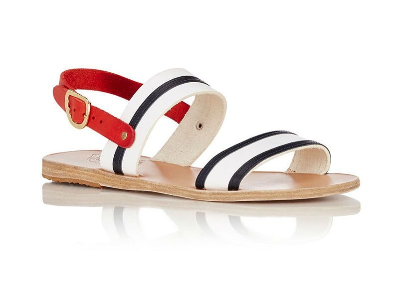 Ancient Greek Sandals with two straps and and an ankle strap