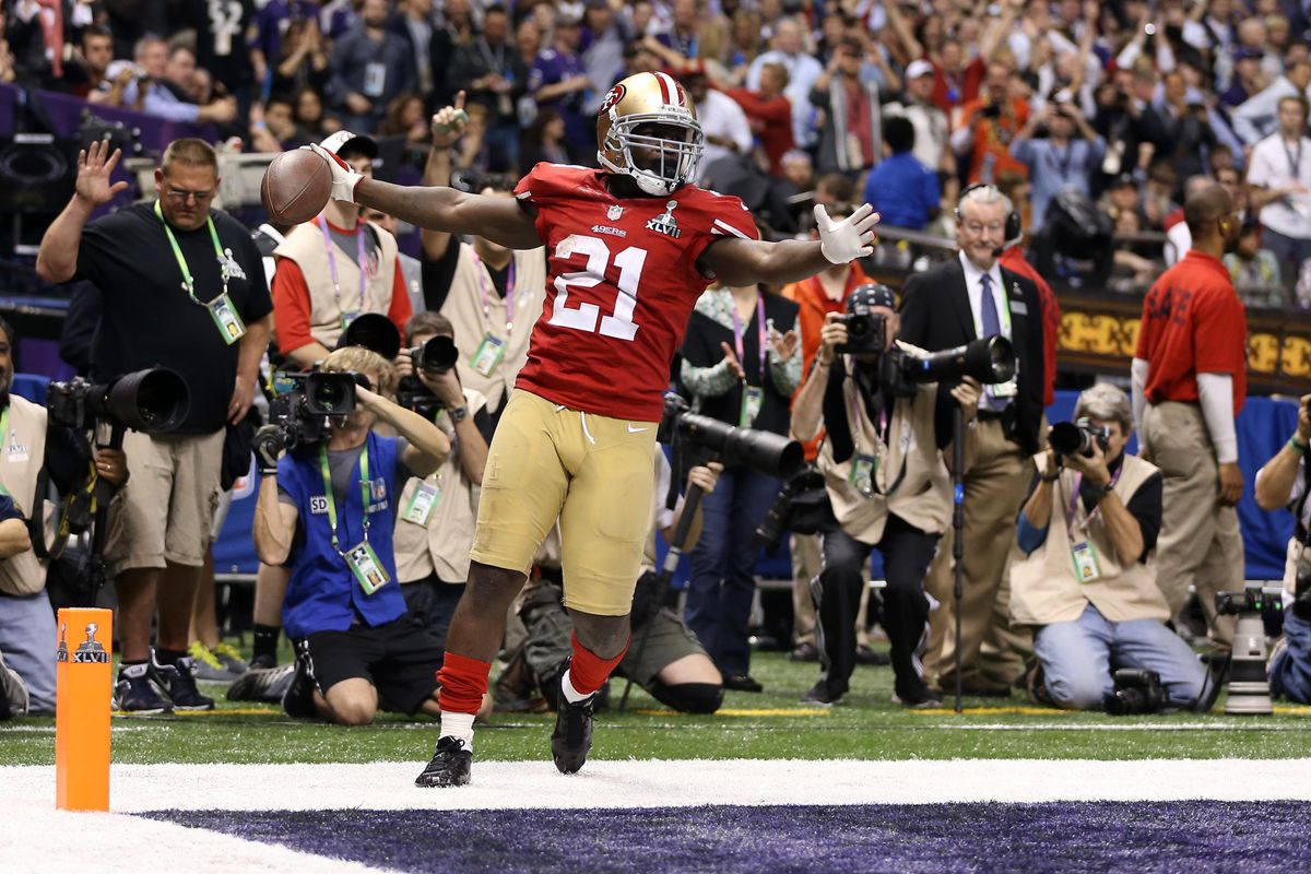 712d91c5a Super Bowl XLVII  Frank Gore says Niners were the better team ...