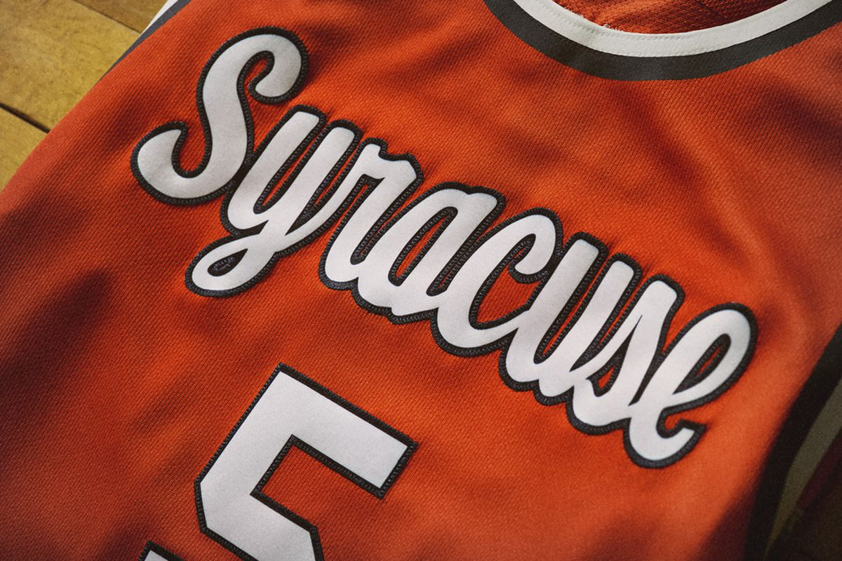 Take A Closer Look At Syracuse s Throwback Uniforms For The BC Game ... 8484977a6