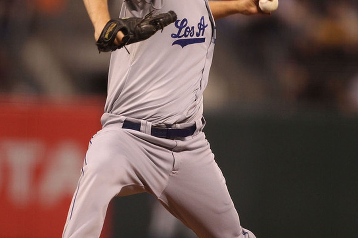 Clayton Kershaw has retired 47 of the last 56 Giants he has faced (a .161 OBP)