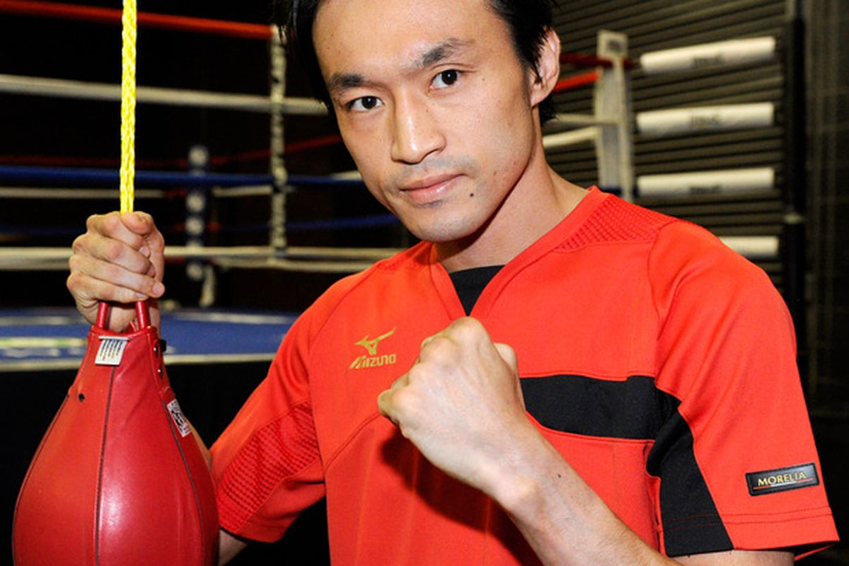 Toshiaki Nishioka might be in line for a showdown with Nonito Donaire in September.  (Photo by Ethan Miller/Getty Images)