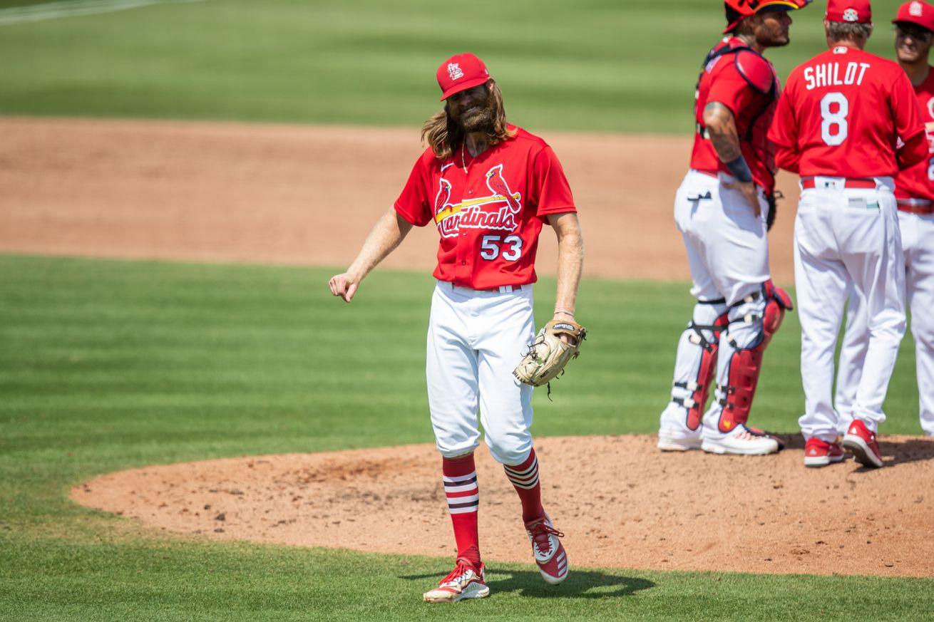 MLB: Washington Nationals at St. Louis Cardinals