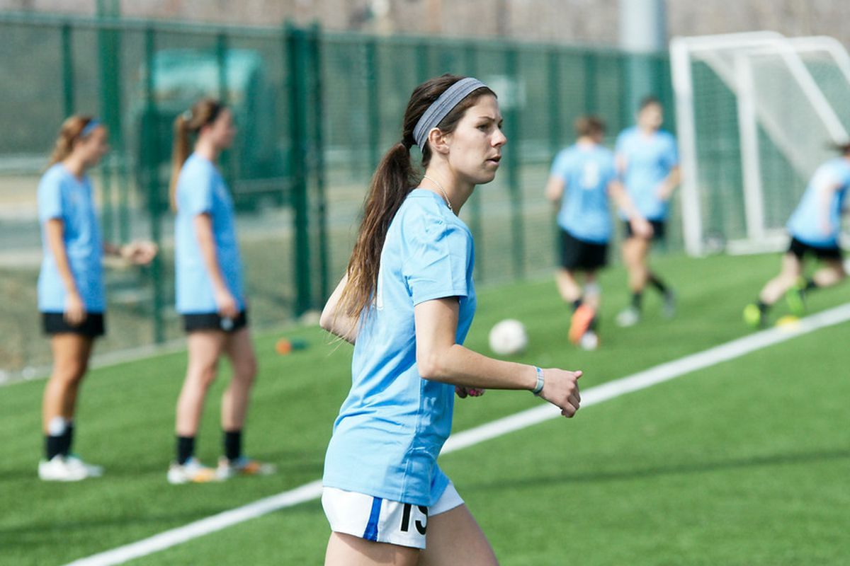 Erika Tymrak was one of FC Kansas City's second round picks that turned out very good