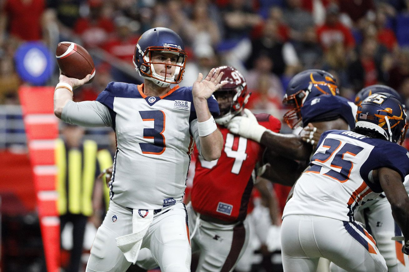 usa today 12181108.0 - AAF 2019 schedule: Game times, TV channels, and live stream info for Week 5