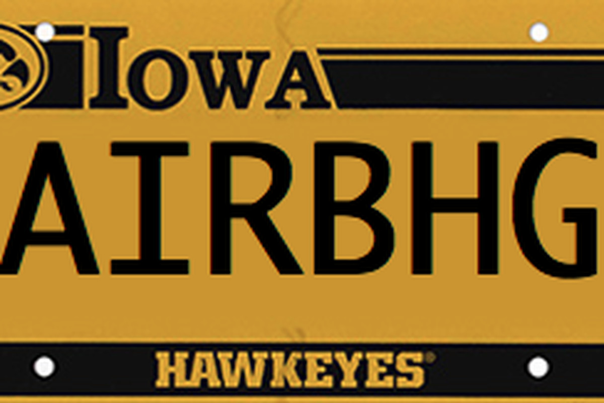 PERSONALIZE YOUR IOWA LICENSE PLATES, BHGP-STYLE - Black Heart Gold ...