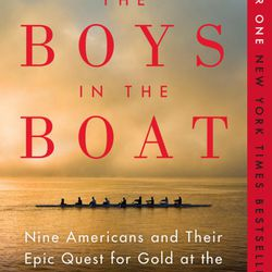 """Larraine Nelson recommended """"The Boys in the Boat"""" by Daniel James Brown."""