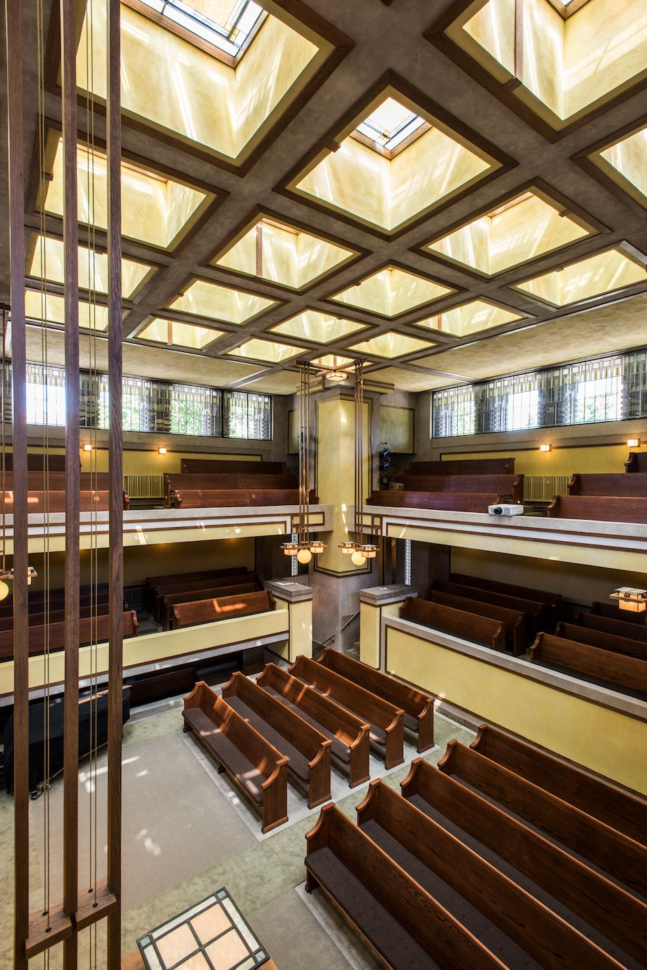 Guided Tours Of Frank Lloyd Wright S Newly Restored Unity