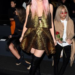 2/16: At the Vera Wang Collection show. Photo: Nicholas Hunt/Getty Images