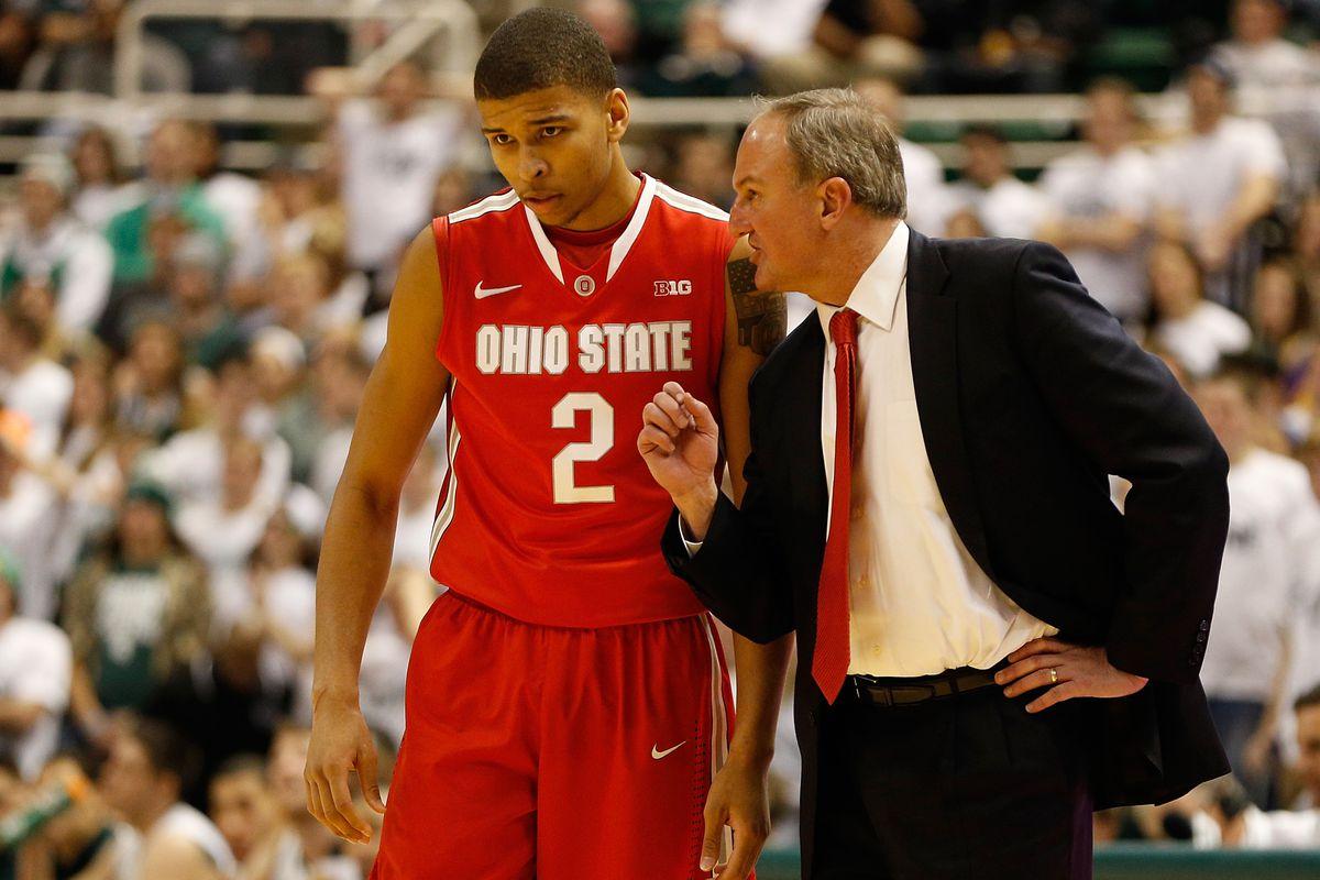 Marc Loving and Thad Matta are preparing for the upcoming basketball season.