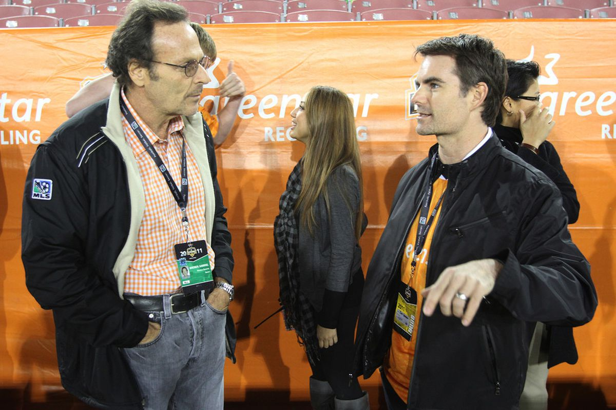 Part owner of  the Houston Dynamo (and Houston Dash), Gabriel Brener