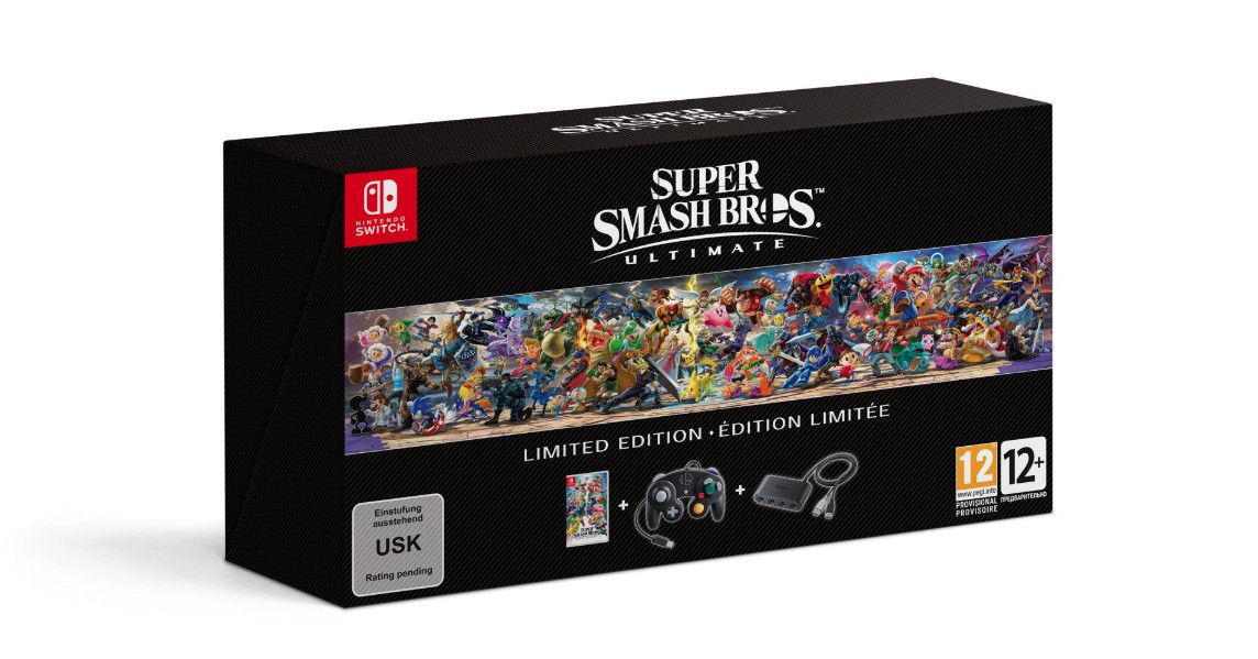 Super Smash Bros Ultimate Limited Edition will include a GameCube controller
