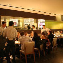VIP Table: Voltaggio's wife and friends.