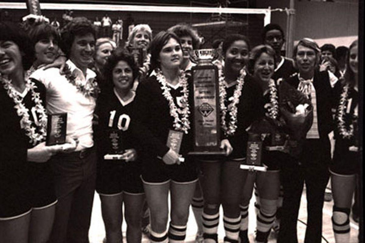 1978 UCF Volleyball Team (Photo: UCF)