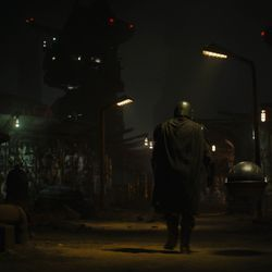 Photos from the first trailer for season 2 of The Mandalorian.