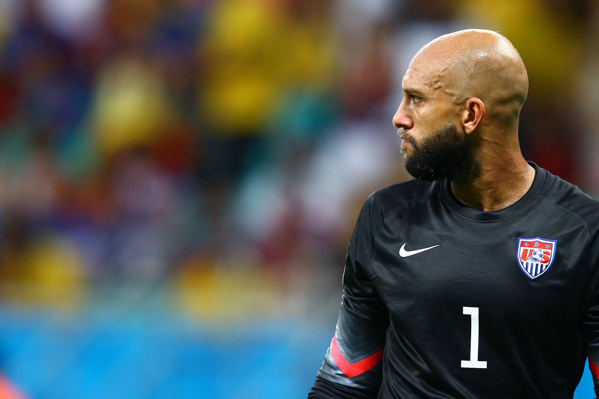 Tim Howard could save Tim Robbins and Morgan Freeman from old-timey prisons