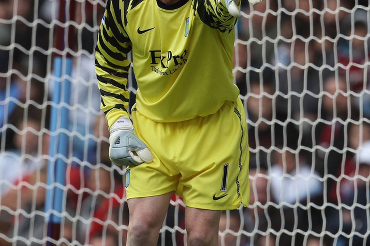 Brad Friedel wants YOU to watch Aston Villa v Stoke City on Monday. (Photo by Phil Cole/Getty Images)