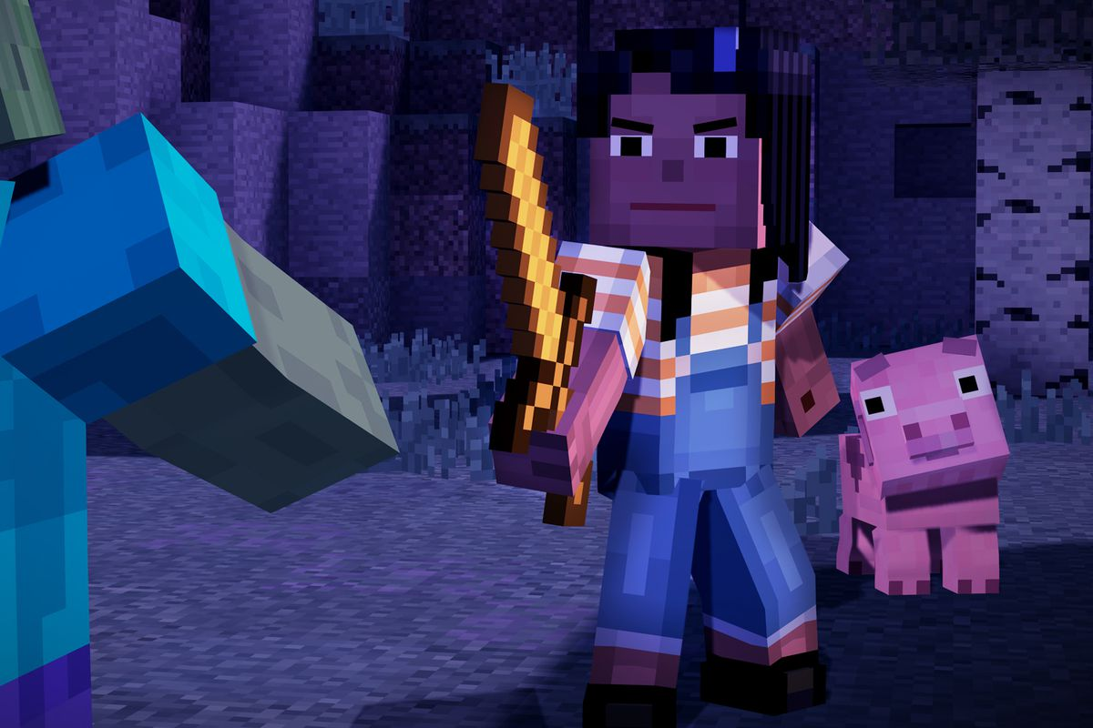With Minecraft: Story Mode, episodic gaming turns family-friendly