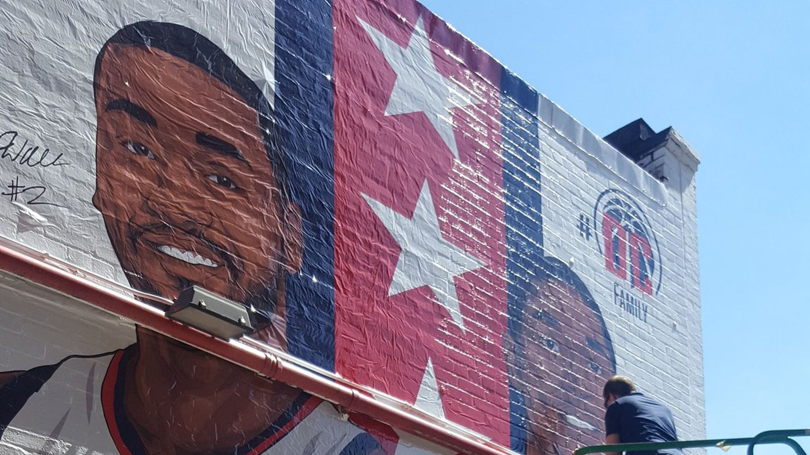 Ben s chili bowl s new mural revealed curbed dc for Chuck brown mural