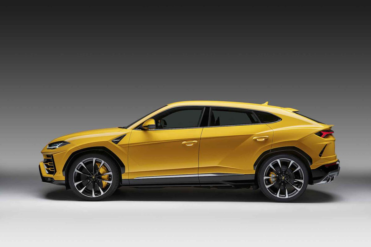 This Week Lamborghini Unveiled Its All New Urus Super Suv Outrageously Fast 650 Horse 200 000 Off Roading Four Door Is Not The First Sport