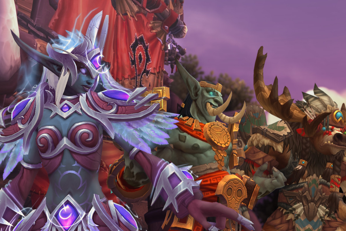 What's next for the first Allied Races in World of