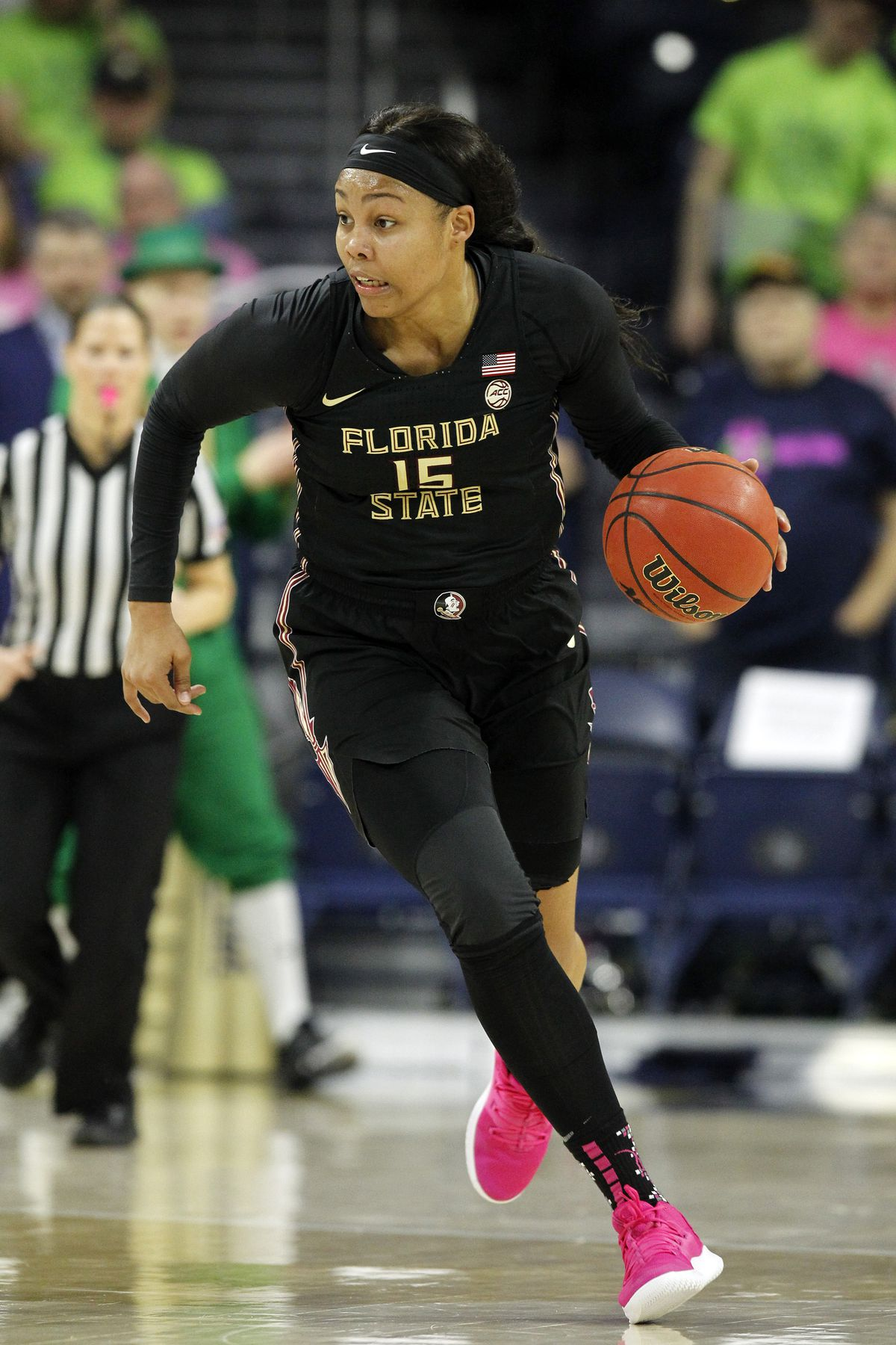 COLLEGE BASKETBALL: FEB 10 Women's Florida State at Notre Dame