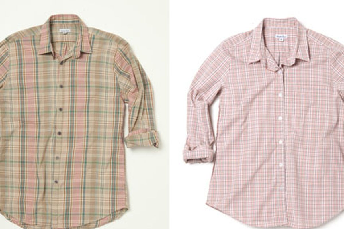 Reverse seam cotton shirts, $78 (down from $168) at Steven Alan